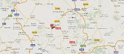 DESDE SATÉLITE. Google maps: