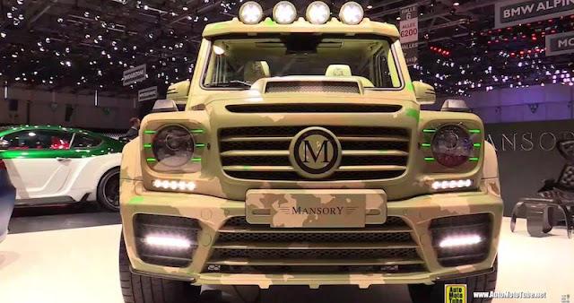マンソリーが手掛けた「G63 AMGサハラエディション」の価格は1億円オーバーに。