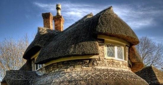 Rubble Stone Cottage Near Bristol England