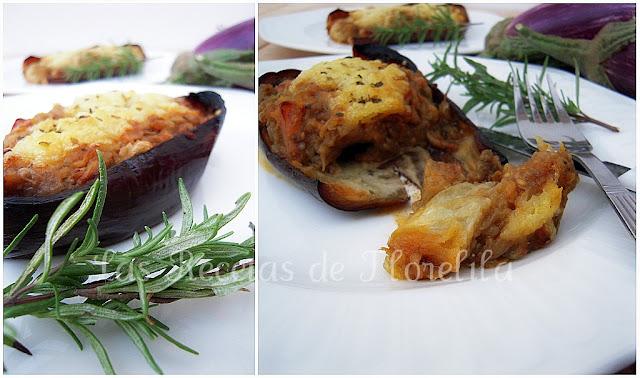 Berenjenas rellenas de bacon cocina y thermomix for Cocina berenjenas rellenas