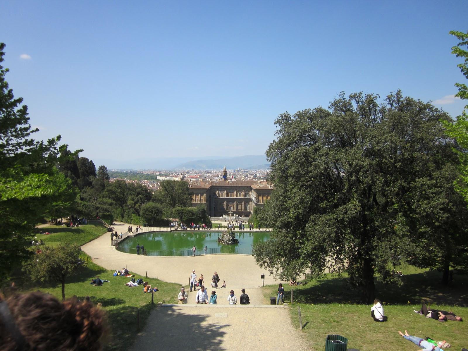 Un Cuore Scalzo My Adventures in Italy Giardino di Boboli