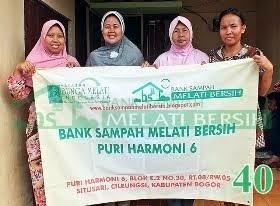 Bank Sampah Melati Bersih Puri Harmoni 6 Situsari Cileungsi Kabupaten Bogor