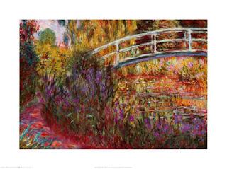 El ponts japonès, de Claude Monet.