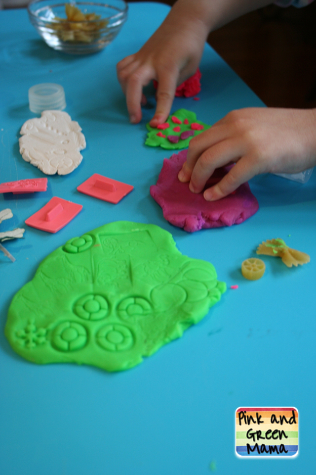 Pink and green mama improving your child 39 s fine motor for Playdough fine motor skills