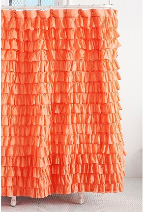 Ruffles. Iu0027ve Always Loved The Waterfall Ruffle Shower Curtain From Urban  Outfitters ...
