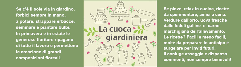 La cuoca giardiniera