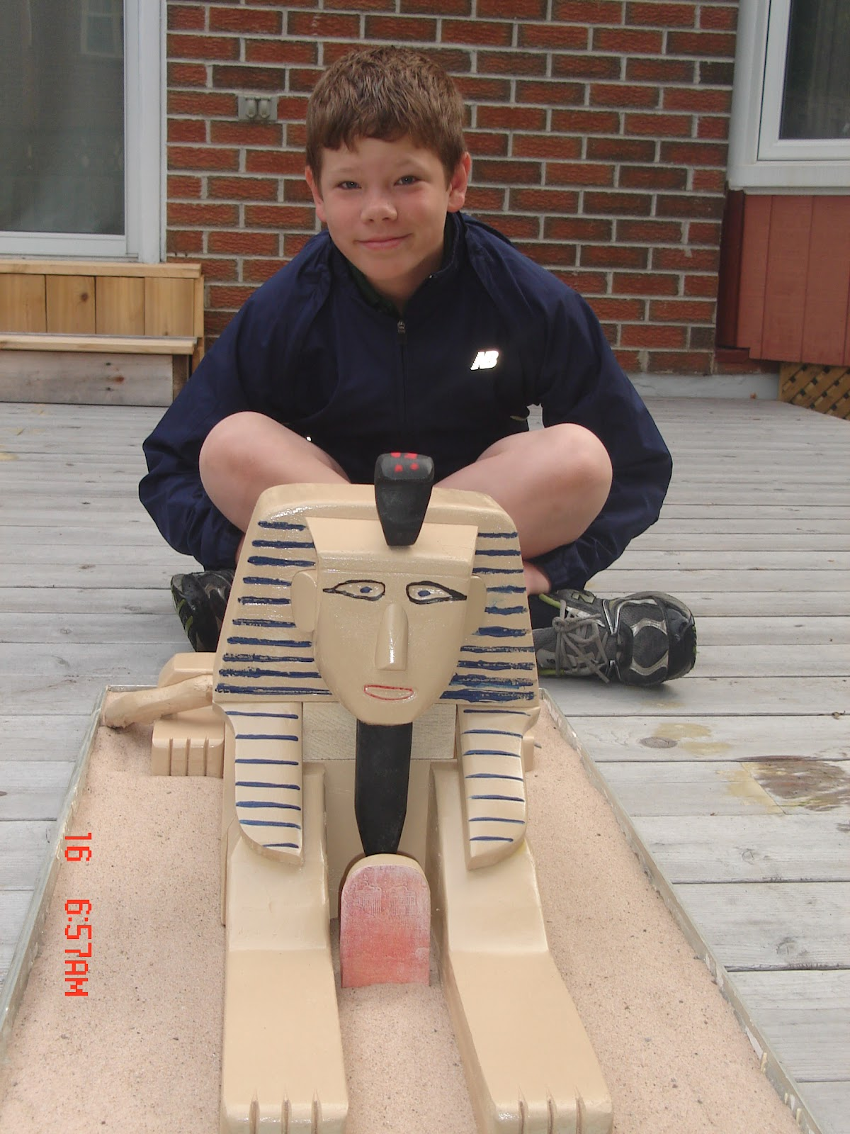 how to make a sphinx