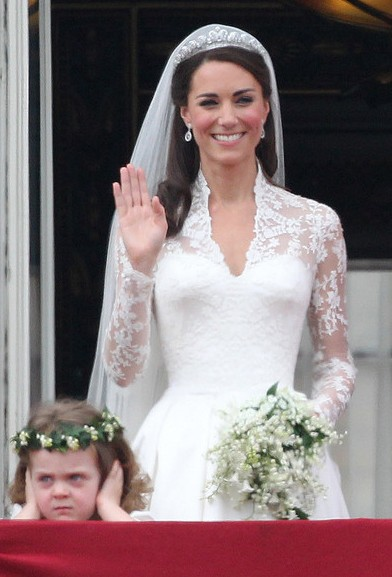 Kate Middleton Wedding Hairstyle