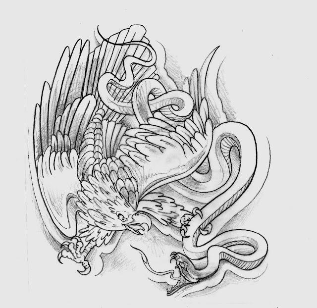 Calaveras con serpientes para dibujar  Imagui
