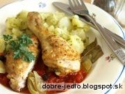 Kura s lúpanými paradajkami - recept