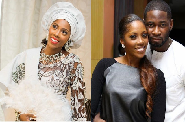 tiwa savage picture with husband Tunde Balogun