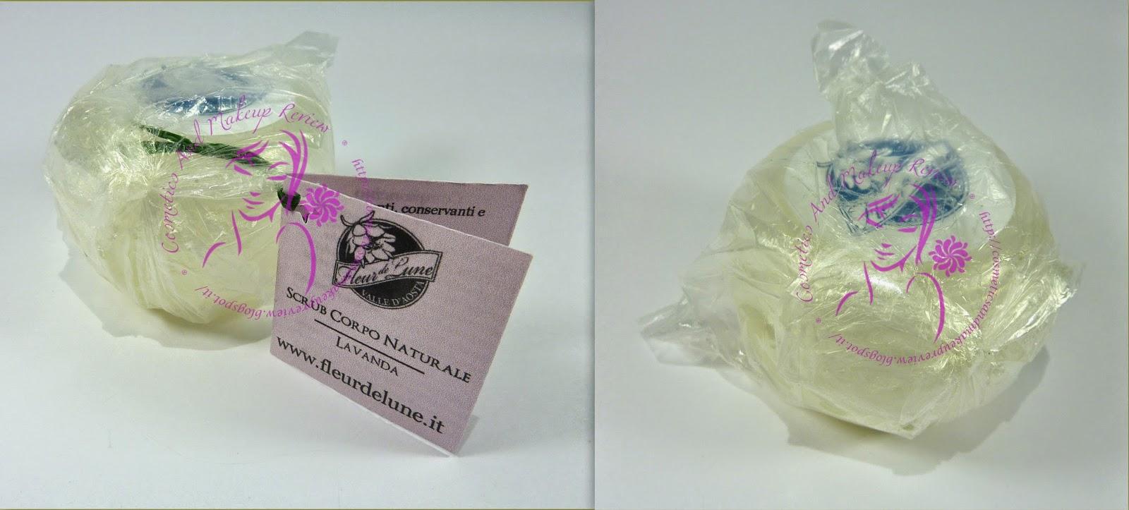 Fleur de Lune - Scrub Corpo Naturale alla Lavanda - packaging