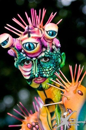 Photos: World Bodypainting Festival takes (it all) off in