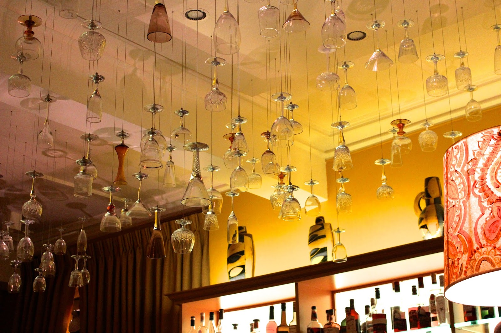 abbey hotel bar area