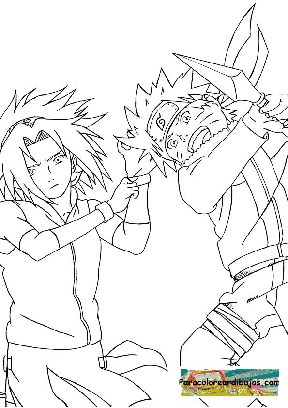 Naruto para dibujar