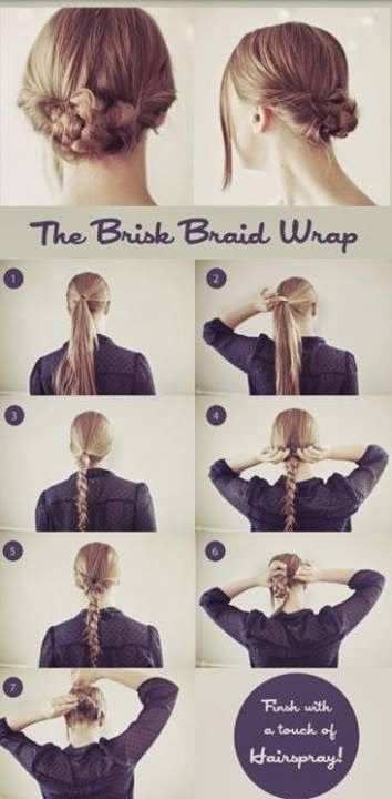 BRISK BRAID WRAP