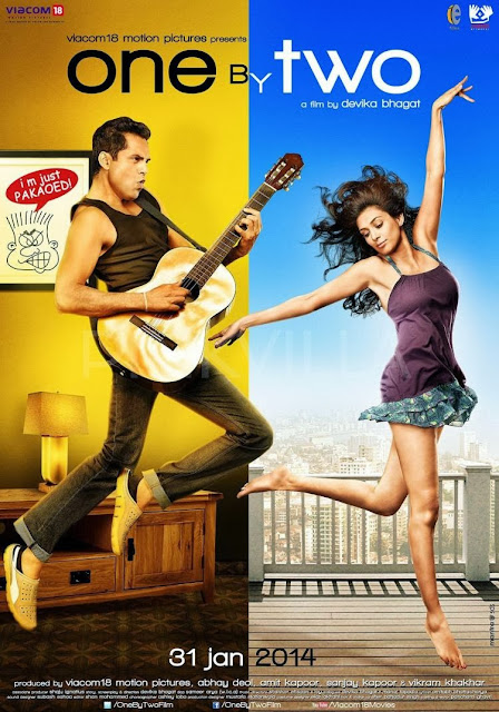 One By Two First Look Poster - Abhay Deol, Preeti Desai