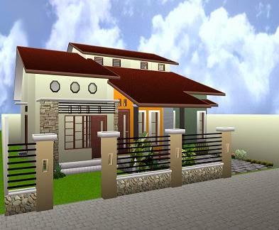 gambar rumah idaman sederhana 2014 dengan desain terbaru