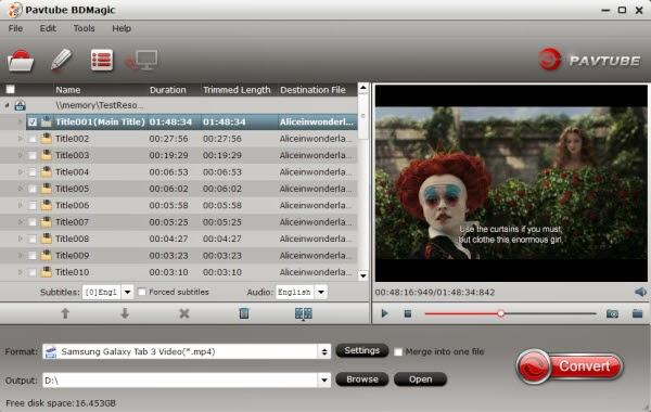 Rip 150 Blu-ray movies to Galaxy Tab Pro 12.2