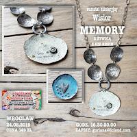 Twórczy koniec lata- Wrocław -Wisior Memory