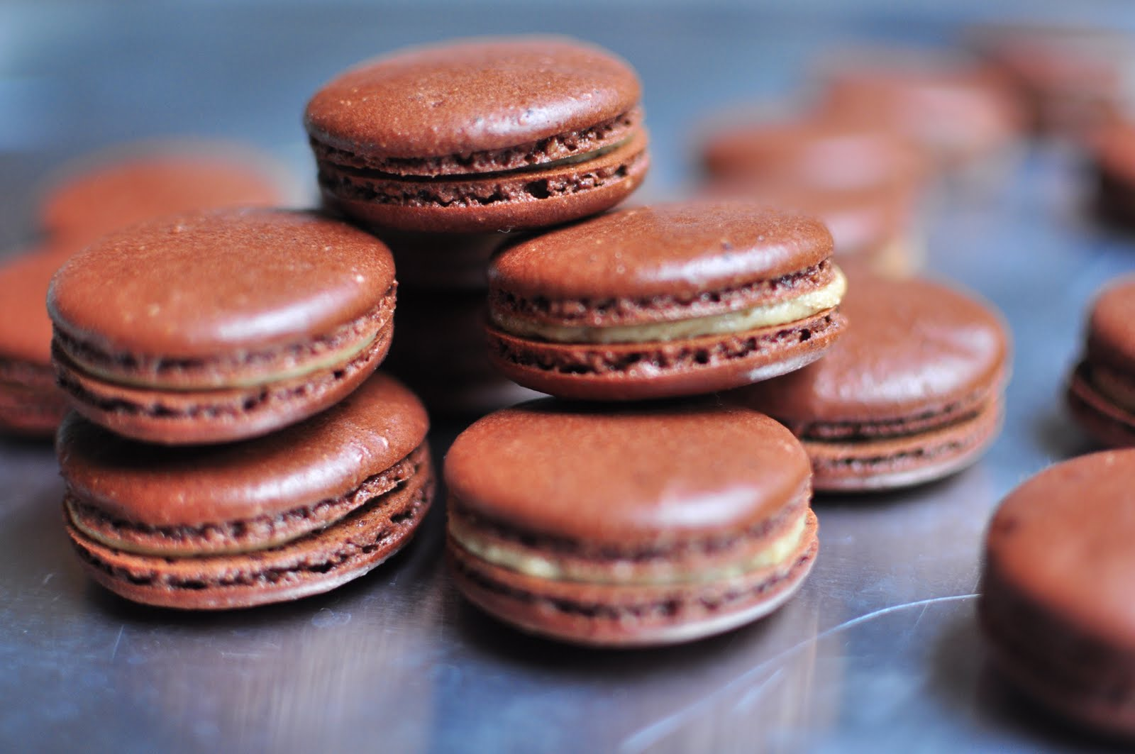 The Kitchen Guardian: Rainy Sunday and Chocolate Macarons