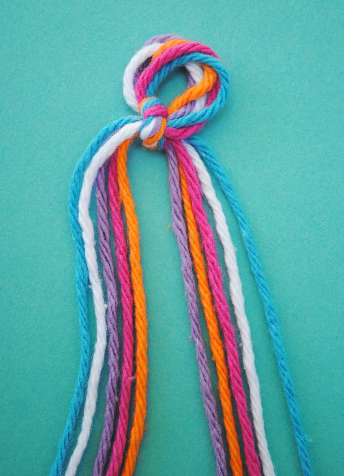 """... for """"How To Make A Braided Double Chain Knot Friendship Bracelet"""