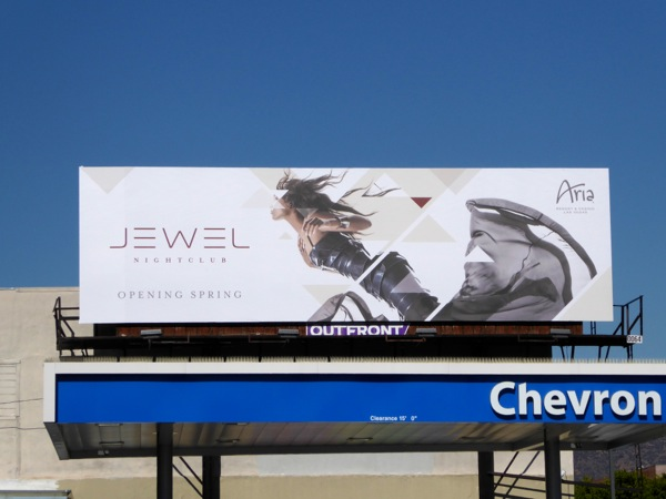 Jewel Nightclub Aria Las Vegas billboard