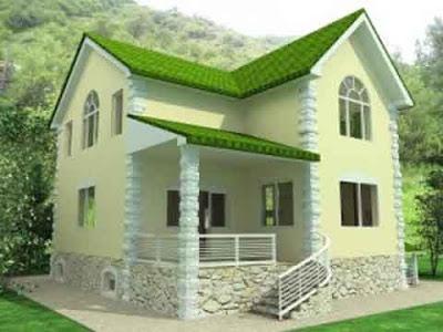 desain rumah model eropa 01