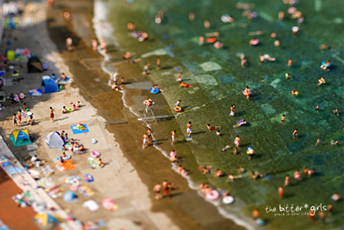 Faking Tilt-Shift Photography in Photoshop