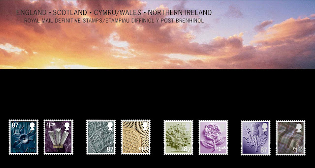 Presentation pack country definitives 25-4-2012 87p & £1-28.