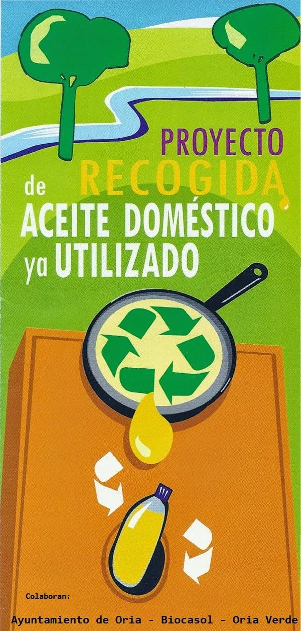 Oriaverde contenedores naranjas para el aceite usado de - Aceite usado de cocina ...