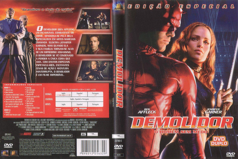 Capa DVD Demolidor O Homem Sem Medo Edição Especial