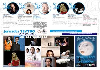 Fotografía Jornadas de Teatro Agosto 2012 en Los Canapes