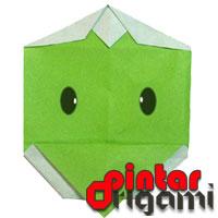 Cara Membuat Origami Wajah Capa