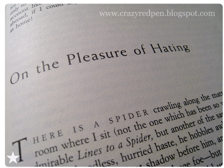 on the pleasure of hating william hazlitt essay Review the pleasure of hating by william hazlitt in the company of william hazlitt keys to success william hazlitt essay on wordsworth learn more about home.