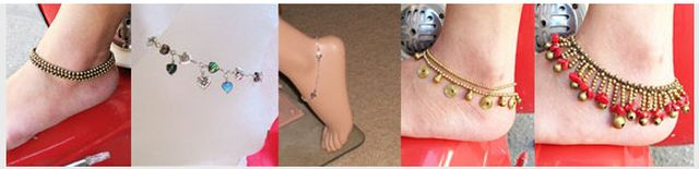 Foot Jewelry Fashions