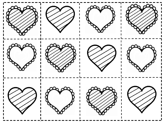 Valentine Activity Sheets For First Grade on De Posing Numbers Kindergarten Worksheets