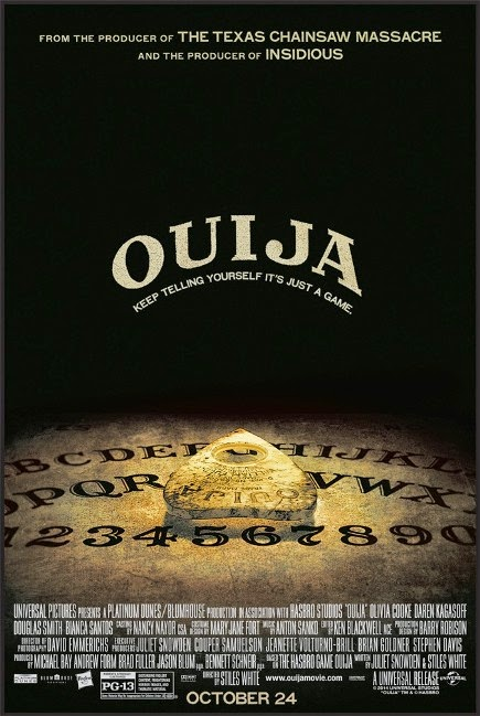 """Ouija (2014)"" movie review by Glen Tripollo"