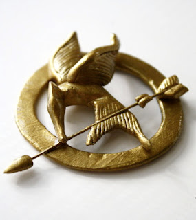 Hunger Games jewelry: mockingjay pin