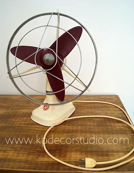 Kp tienda vintage online comprar ventilador antiguo space - Ventiladores decorativos ...