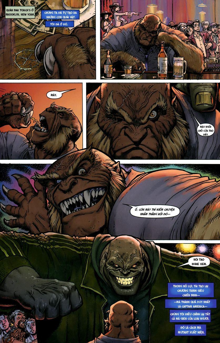 TruyenHay.Com - Ảnh 11 - Ultimate Comics X Chap 5