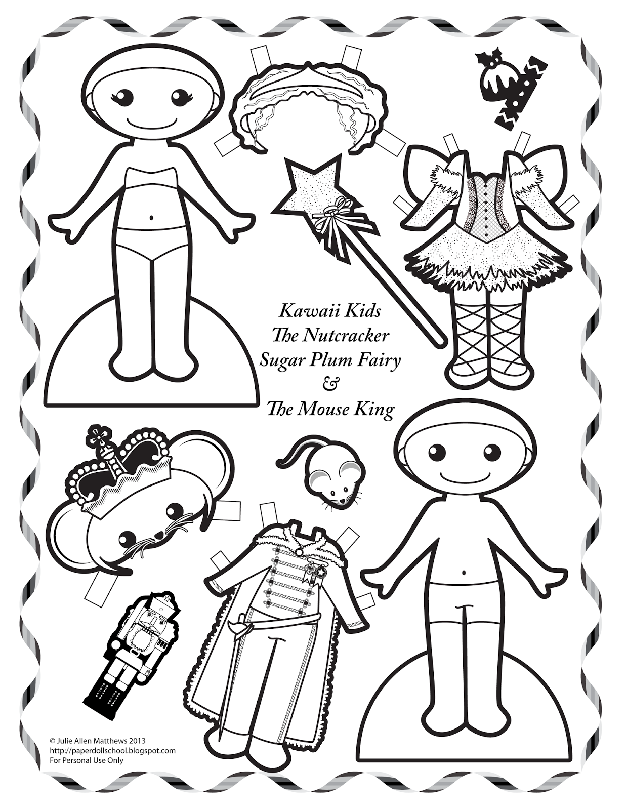 sugar plum fairies coloring pages - photo#21