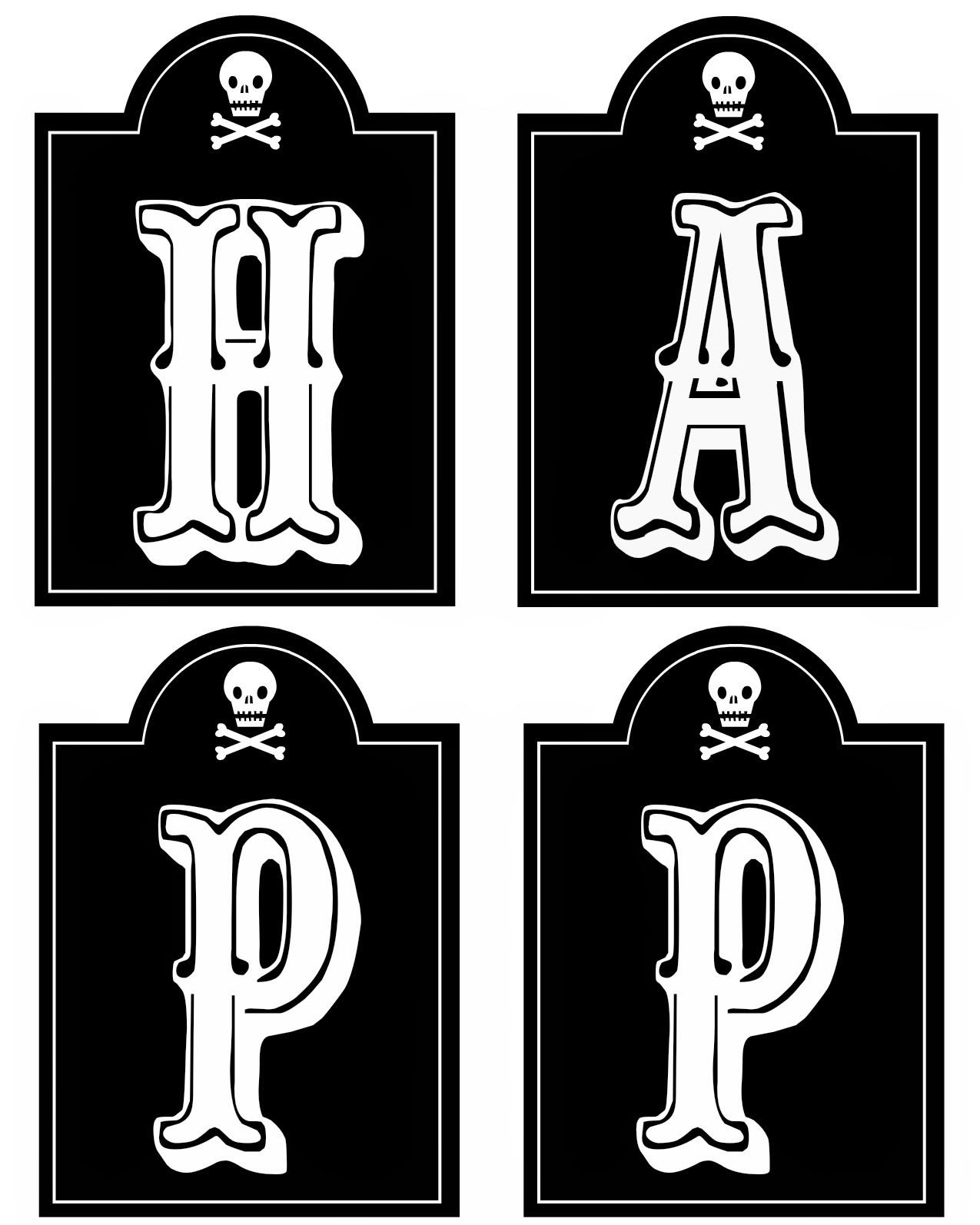 It is a graphic of Invaluable Halloween Banner Printable