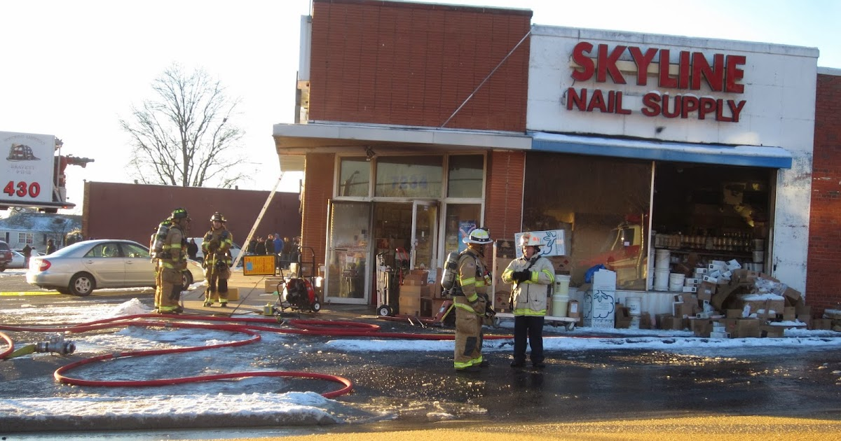Annandale Va Fire Damages Nail Supply Shop At Route 50 And Graham Road