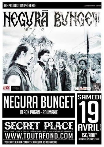 Negură Bunget / Grimegod @ Secret Place, Saint-Jean-de-Védas, Montpellier 19/04/2014