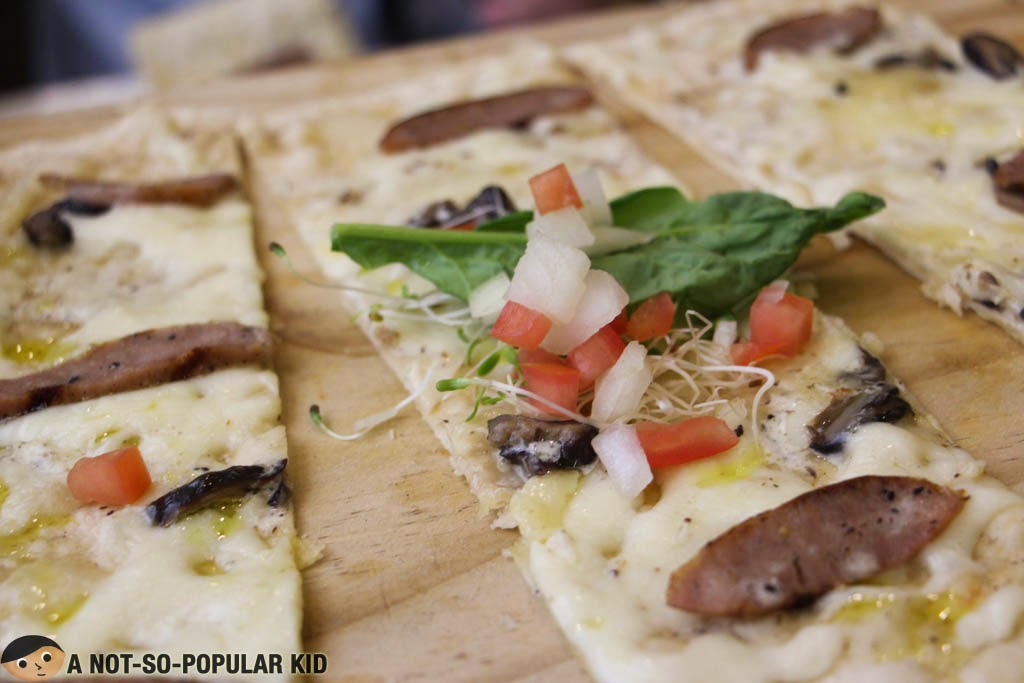 White Truffle Sausage Panizza of Torch