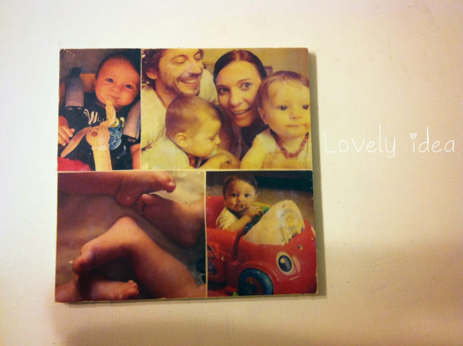 diy photo transfer