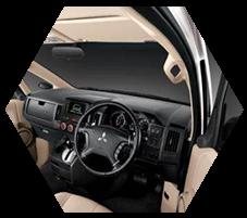 Dashboard Mitsubishi Delica