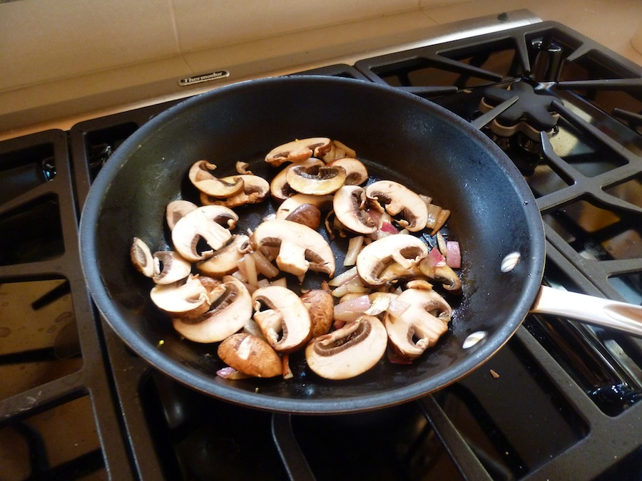 how to cook mushrooms and onions on bbq