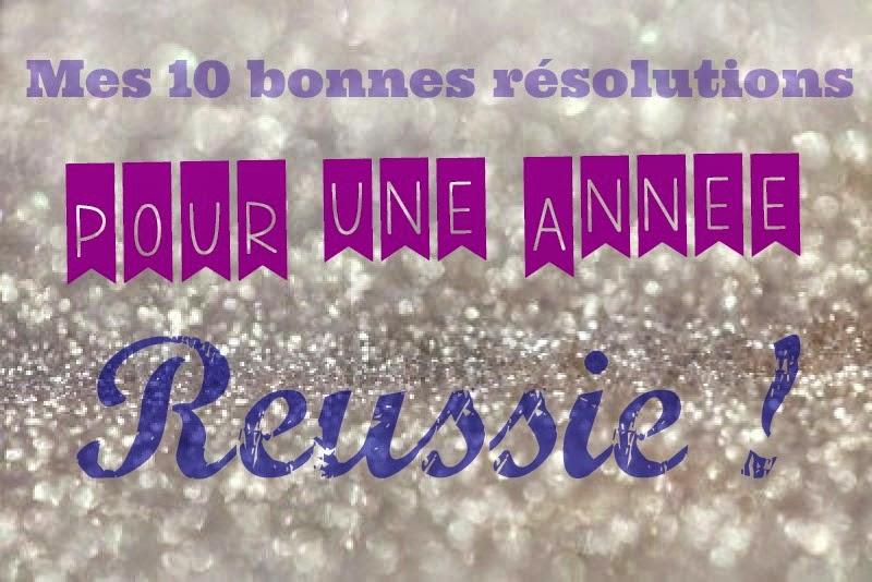 Bonnes résolutions année 2015